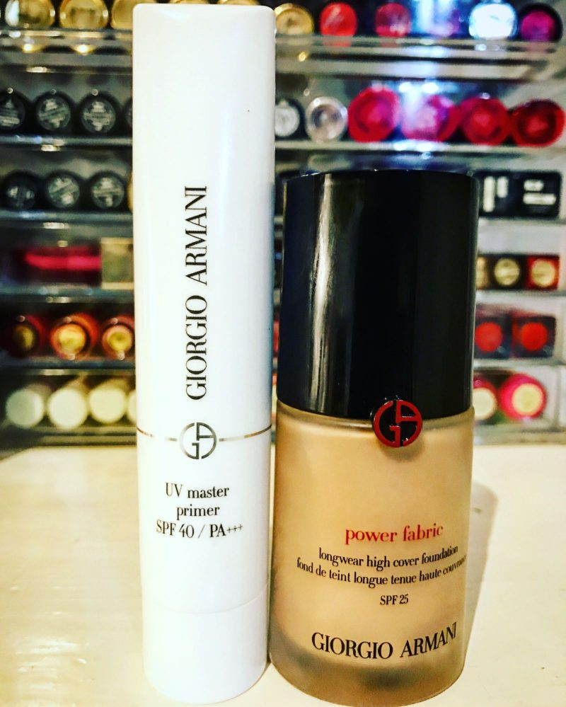 Armani uv master primer and power fabric caroline hirons this dynamic duo are not to be missed get yourself to a store and swatchswipetest do whatever you need to do to get these products on your face solutioingenieria Choice Image