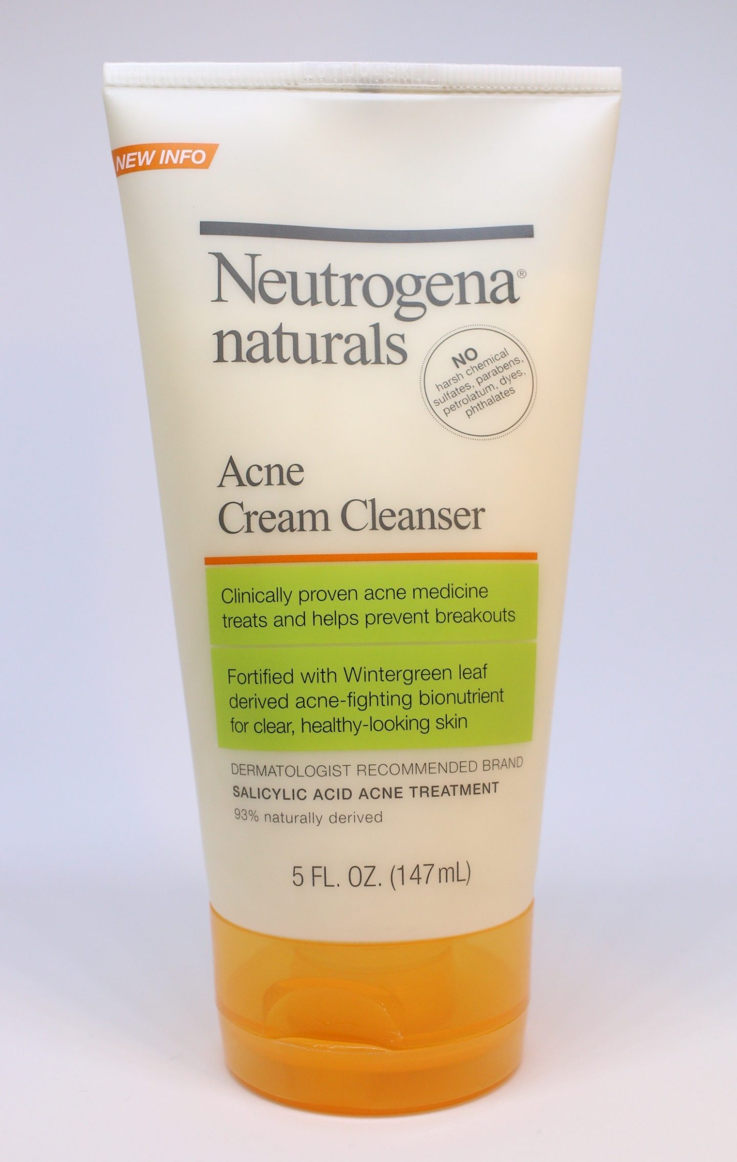 Neutrogena Naturals Acne Cream Cleanser - Caroline Hirons