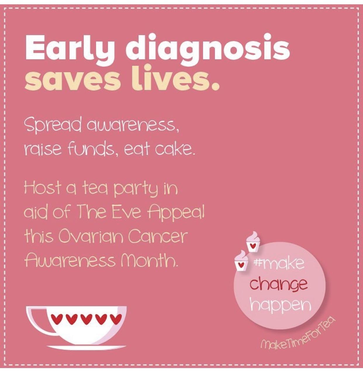 Ovarian Cancer Awareness Month Caroline Hirons