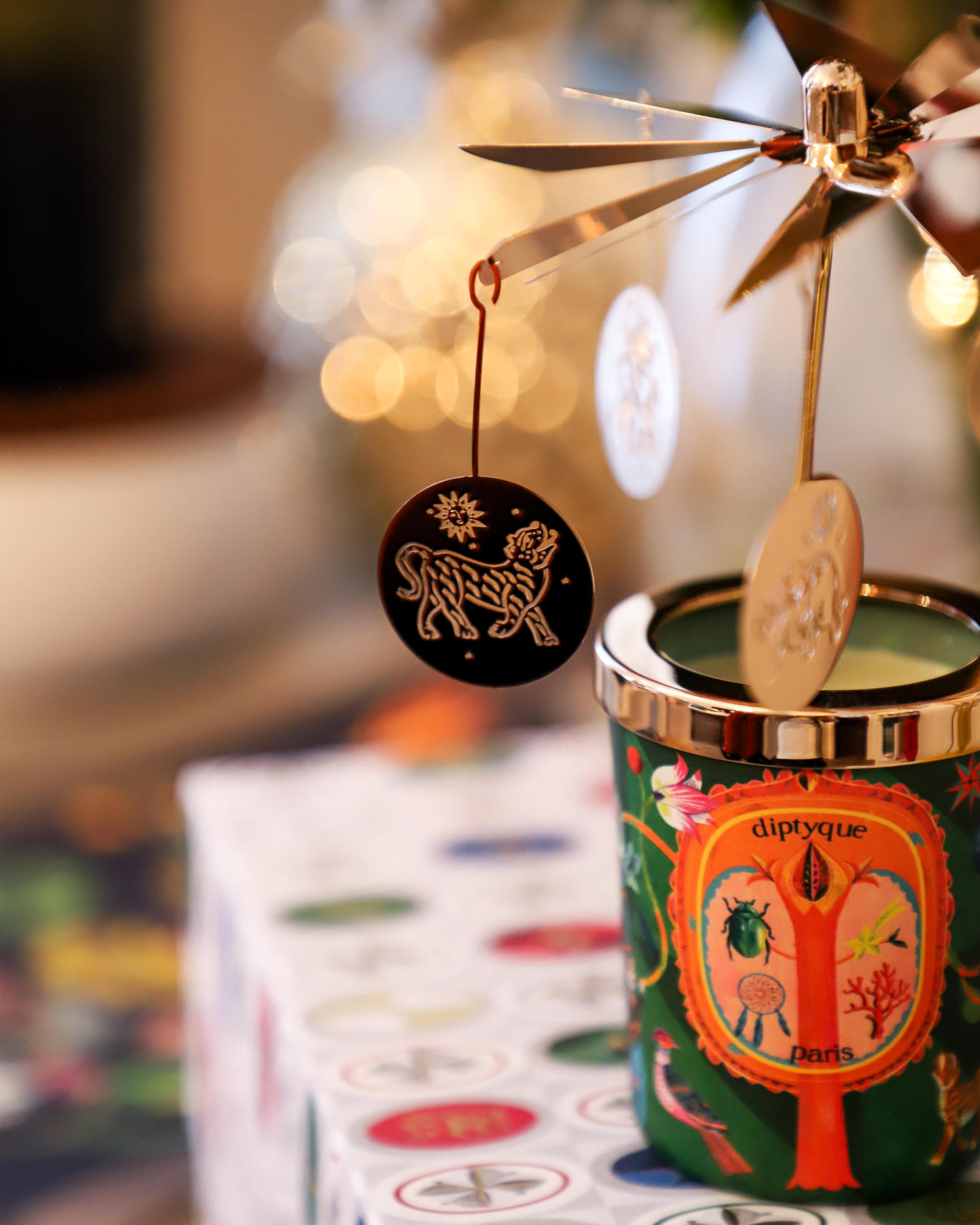 Diptyque Limited Edition Winter Collection Lucky Charms Caroline Hirons
